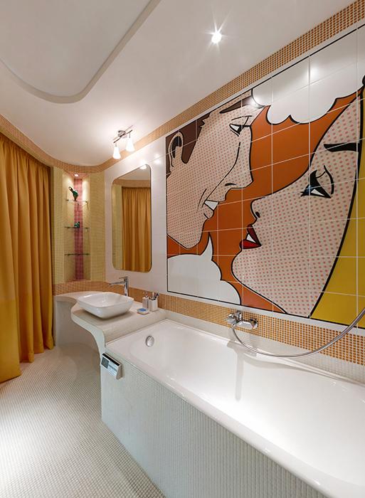 Квартира. ванная из проекта , фото №34390