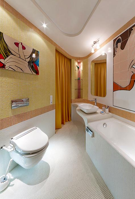 Квартира. ванная из проекта , фото №34391