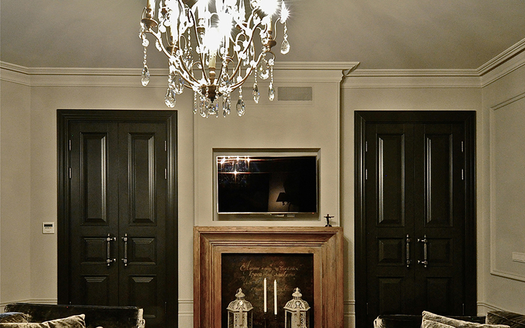 интерьер гостиной - фото № 34522