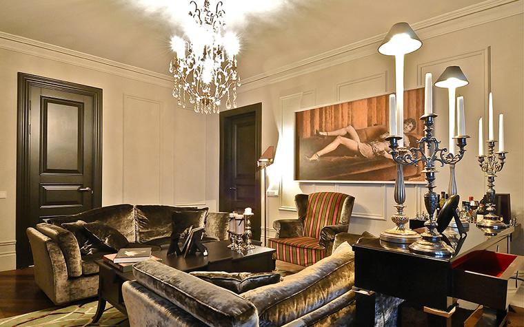 интерьер гостиной - фото № 34521