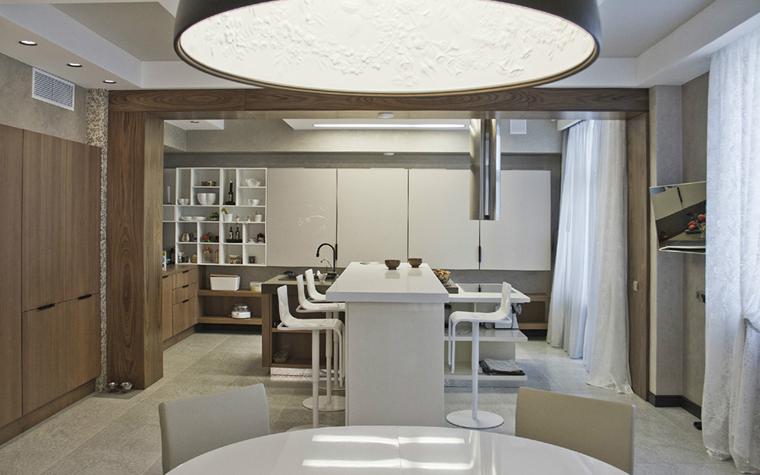 Квартира. кухня из проекта , фото №34628