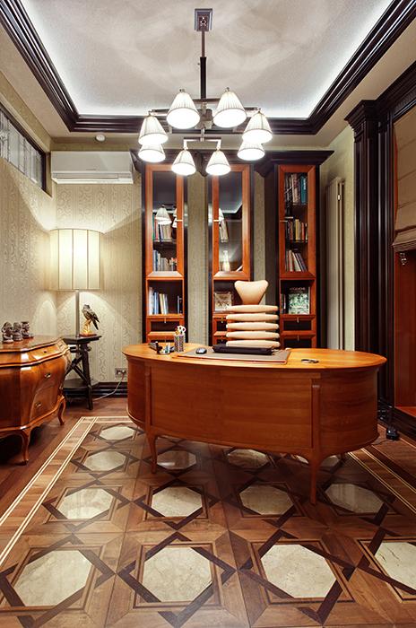 Квартира. кабинет из проекта , фото №34637
