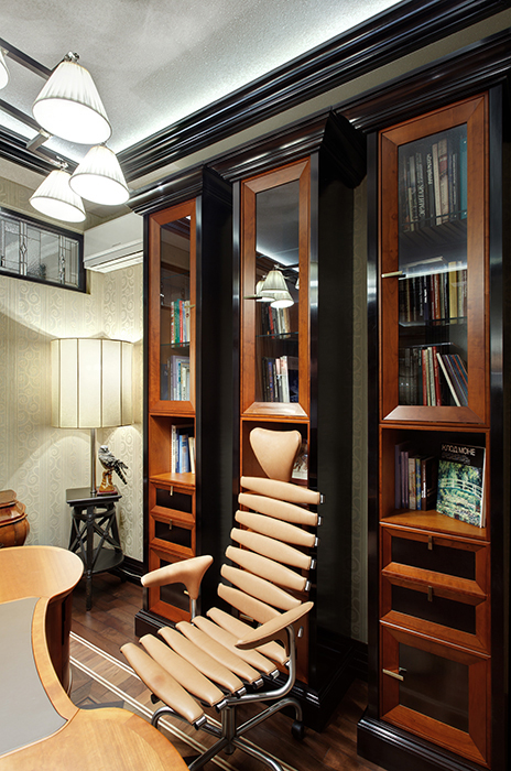 Квартира. кабинет из проекта , фото №34638