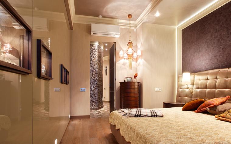 Квартира. спальня из проекта , фото №34639