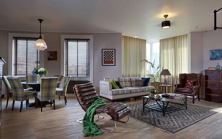 интерьер гостиной - фото № 34642