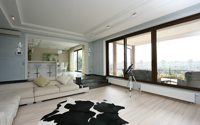 интерьер гостиной - фото № 34661