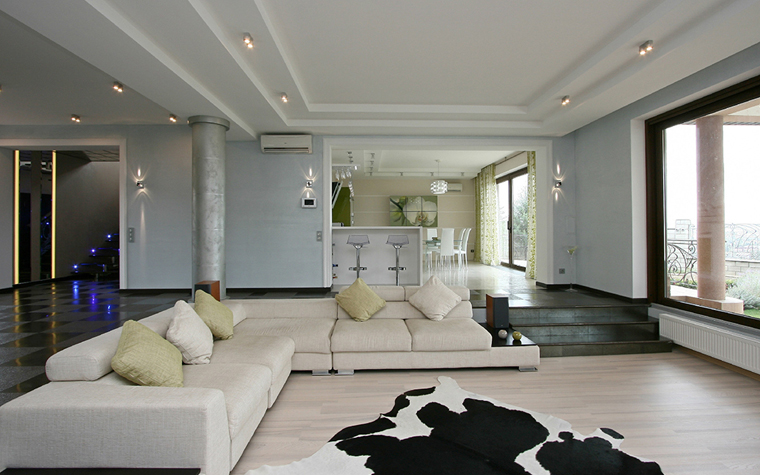 интерьер гостиной - фото № 34655