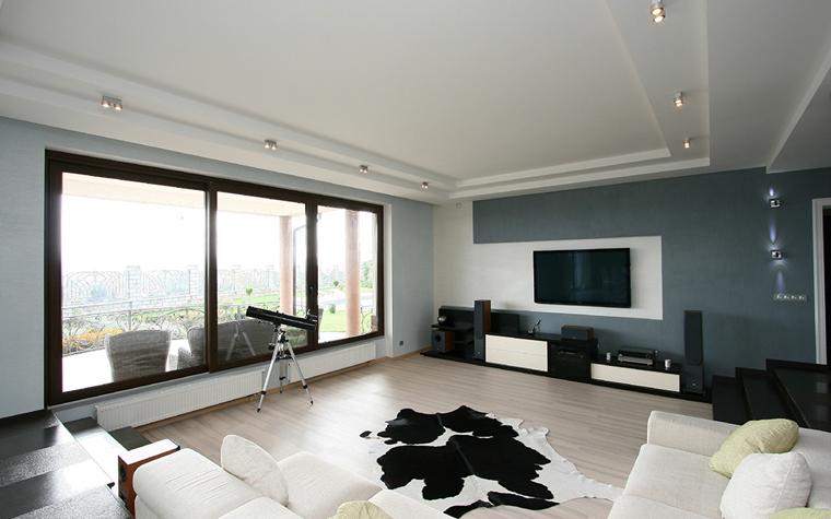 интерьер гостиной - фото № 34656