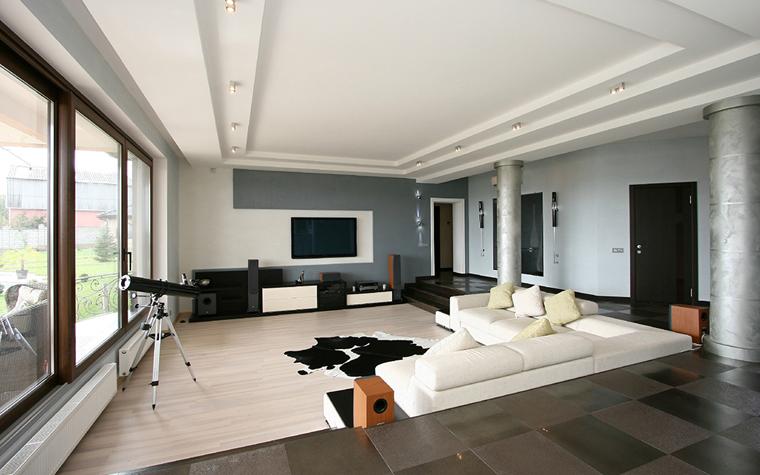 Квартира. гостиная из проекта , фото №34657