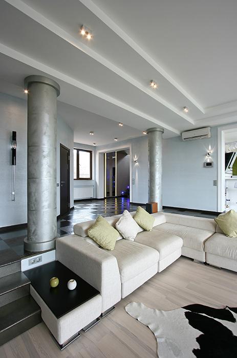 интерьер гостиной - фото № 34659