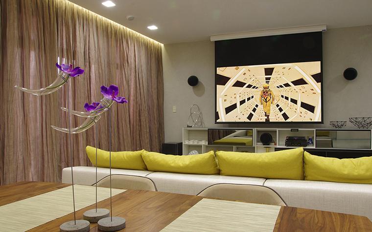 Квартира. гостиная из проекта , фото №34786