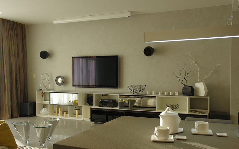 Квартира. гостиная из проекта , фото №34789