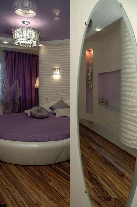 Квартира. спальня из проекта , фото №34908