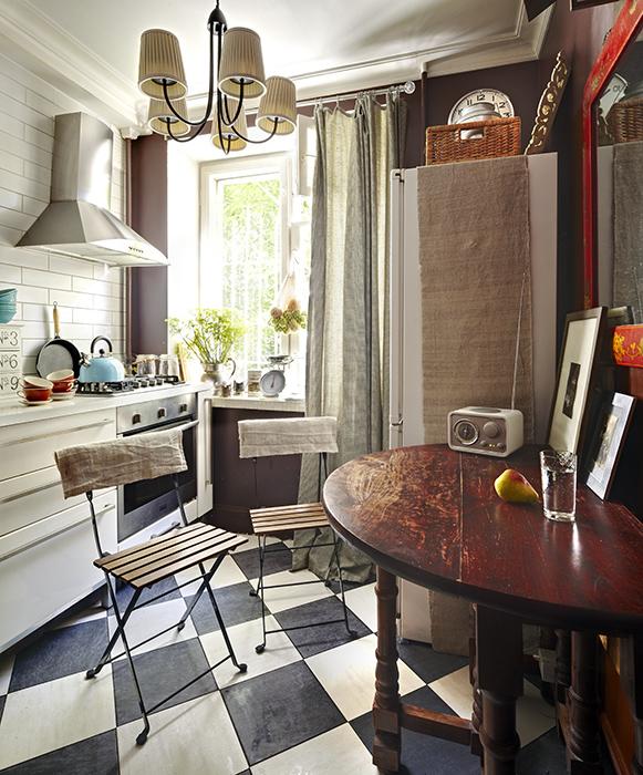 Квартира. кухня из проекта , фото №34939