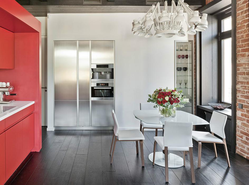 Квартира. кухня из проекта , фото №35079