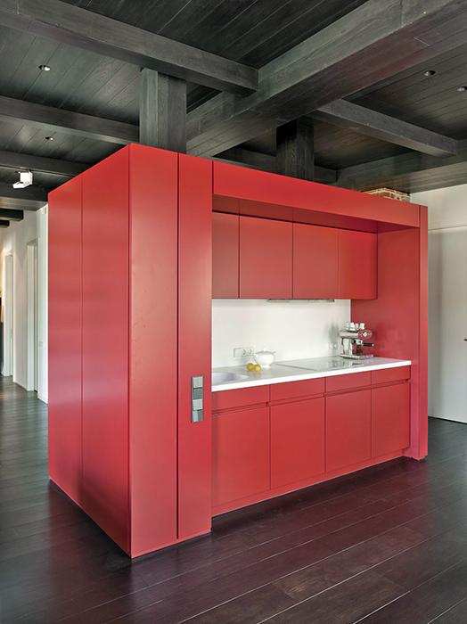 Квартира. кухня из проекта , фото №35080