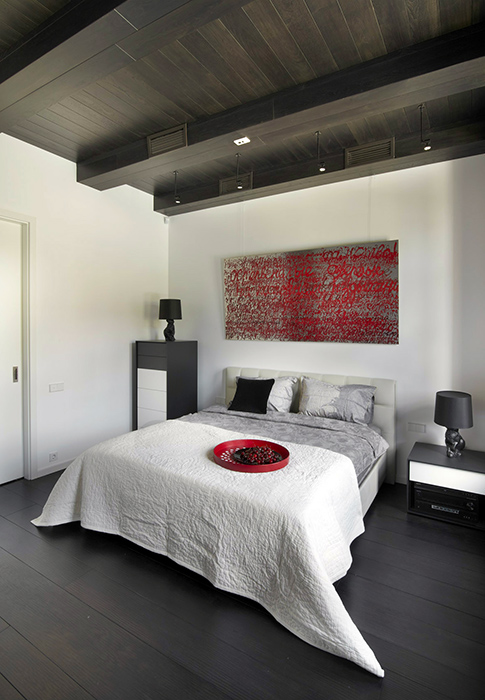Квартира. спальня из проекта , фото №35075