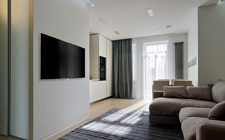 Квартира. гостиная из проекта , фото №35103