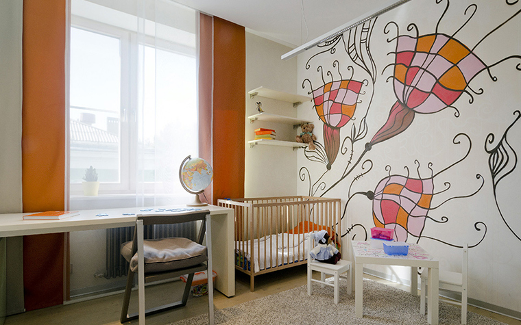 Квартира. детская из проекта , фото №35097