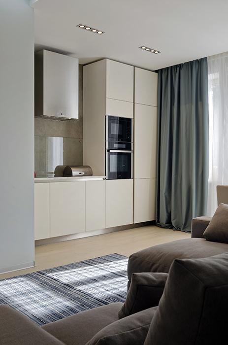 Квартира. кухня из проекта , фото №35108