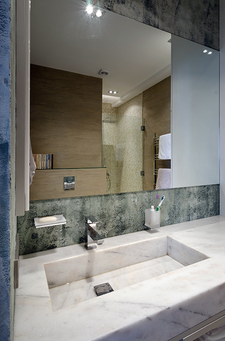 Квартира. ванная из проекта , фото №35102