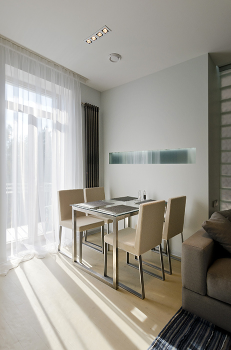 Квартира. столовая из проекта , фото №35105