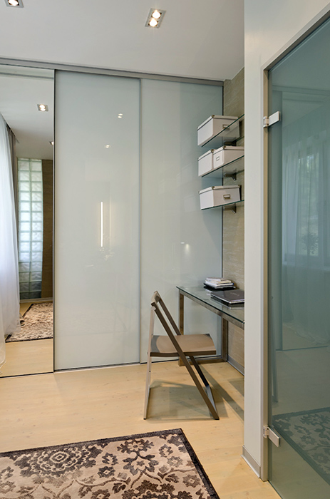 Квартира. спальня из проекта , фото №35113