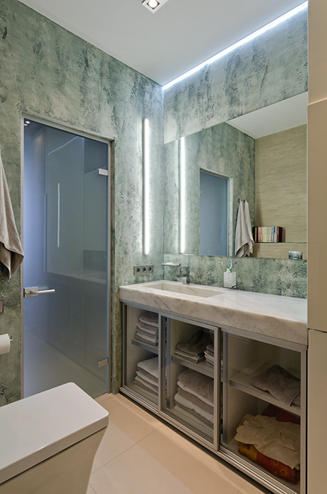 Квартира. ванная из проекта , фото №35100