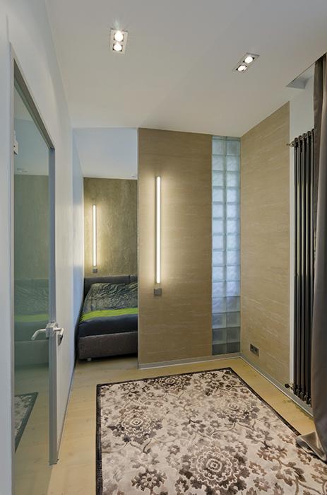 Квартира. спальня из проекта , фото №35110