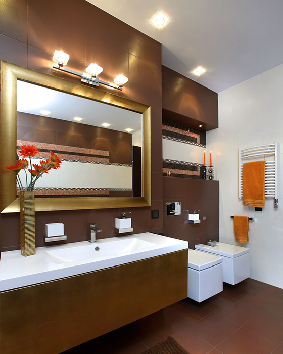 Квартира. ванная из проекта , фото №35300
