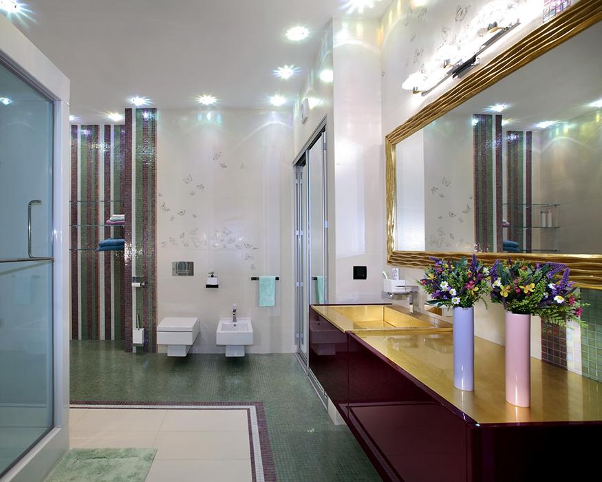 Квартира. ванная из проекта , фото №35298
