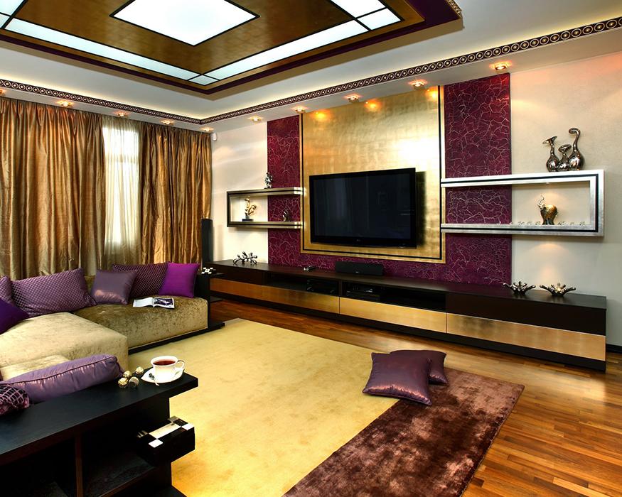 интерьер гостиной - фото № 35287