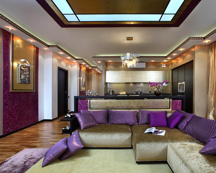 интерьер гостиной - фото № 35289