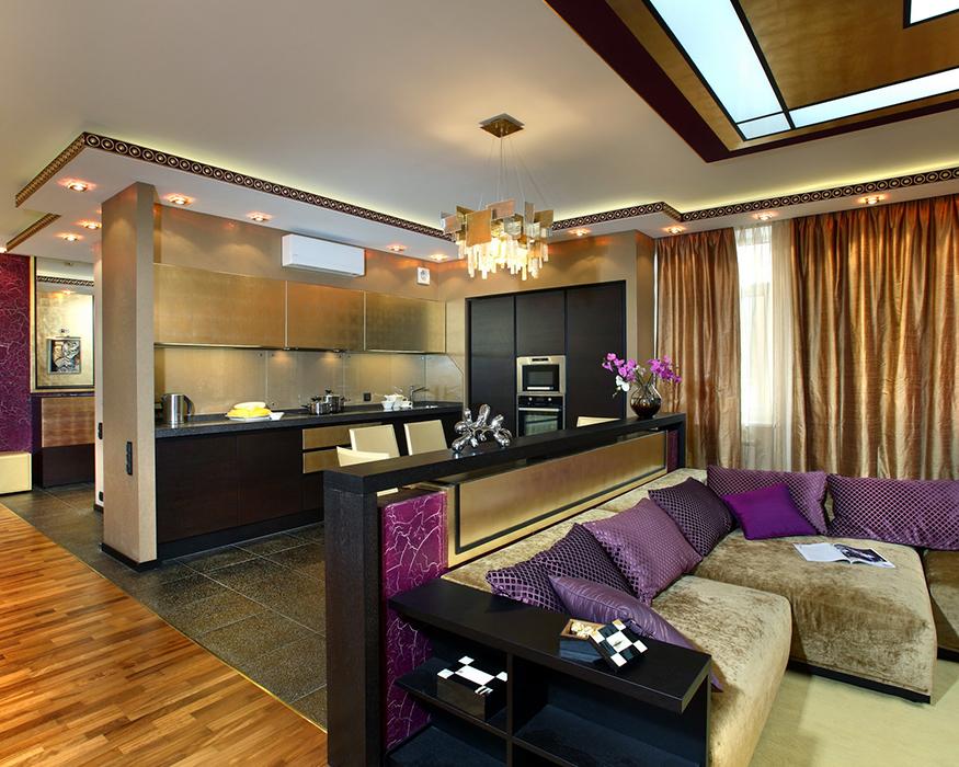 интерьер гостиной - фото № 35290