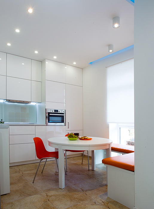 Квартира. кухня из проекта , фото №35397