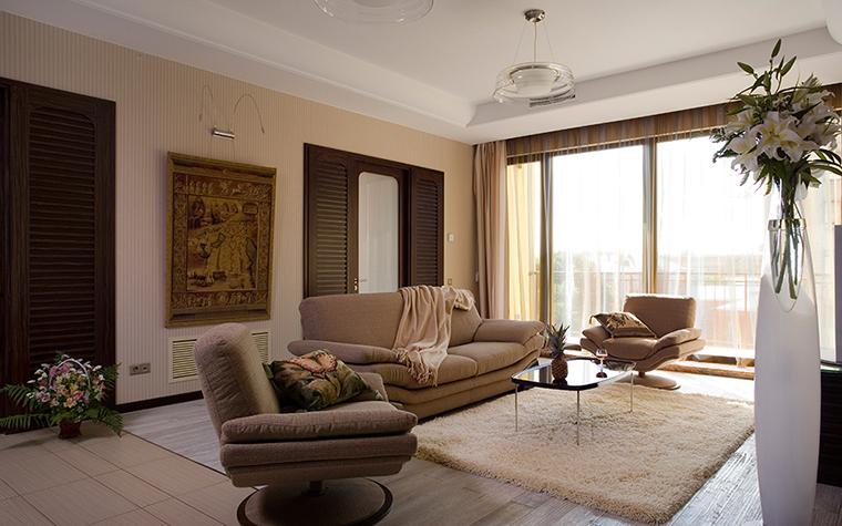 интерьер гостиной - фото № 35528