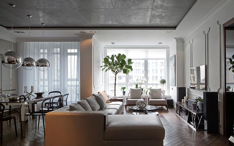 Квартира. гостиная из проекта , фото №35703