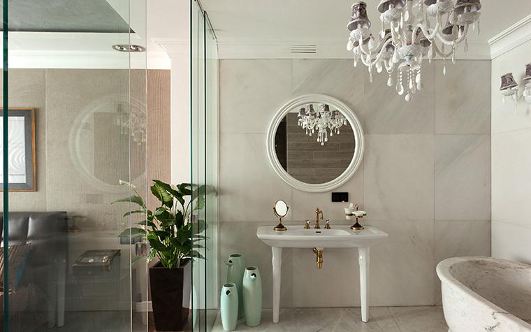 Квартира. ванная из проекта , фото №35719