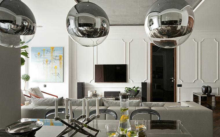 Квартира. столовая из проекта , фото №35712