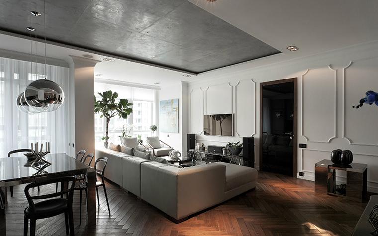 Квартира. гостиная из проекта , фото №35708