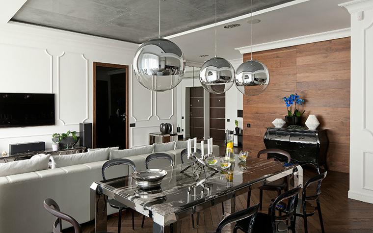 Квартира. столовая из проекта , фото №35713