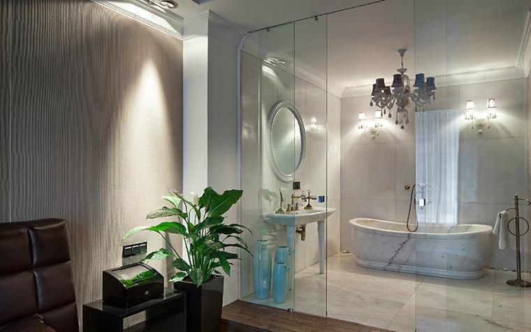 Квартира. ванная из проекта , фото №35720
