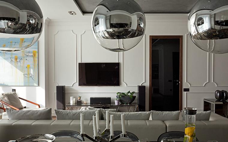 Квартира. гостиная из проекта , фото №35704