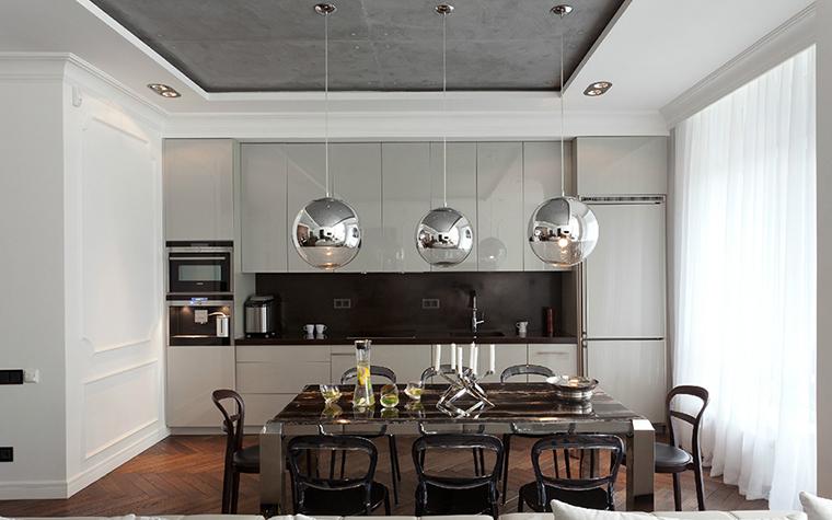Квартира. кухня из проекта , фото №35709