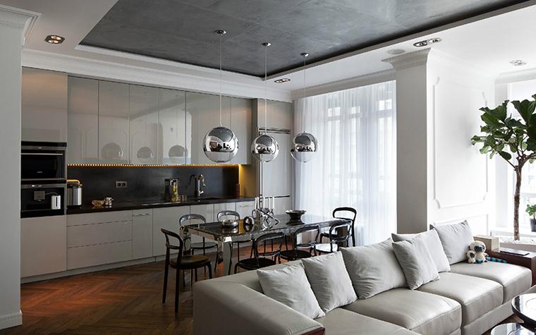 Квартира. кухня из проекта , фото №35710
