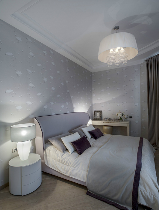 интерьер спальни - фото № 35744