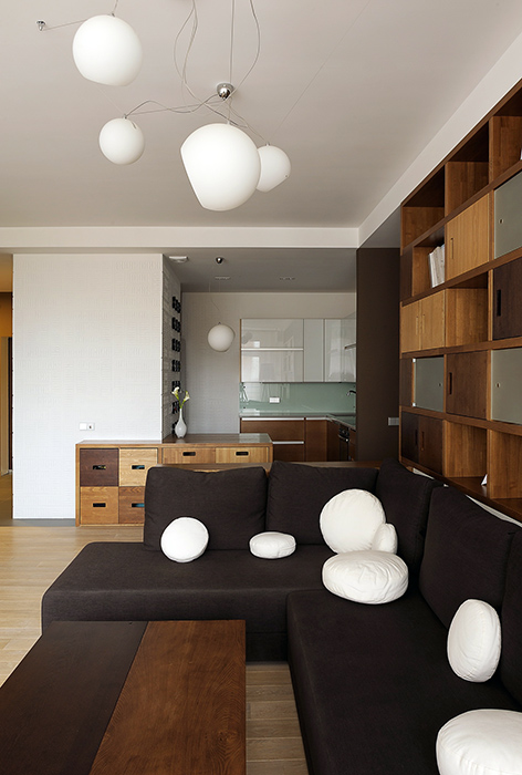 Квартира. гостиная из проекта , фото №35837