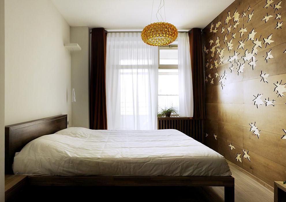 Квартира. спальня из проекта , фото №35851