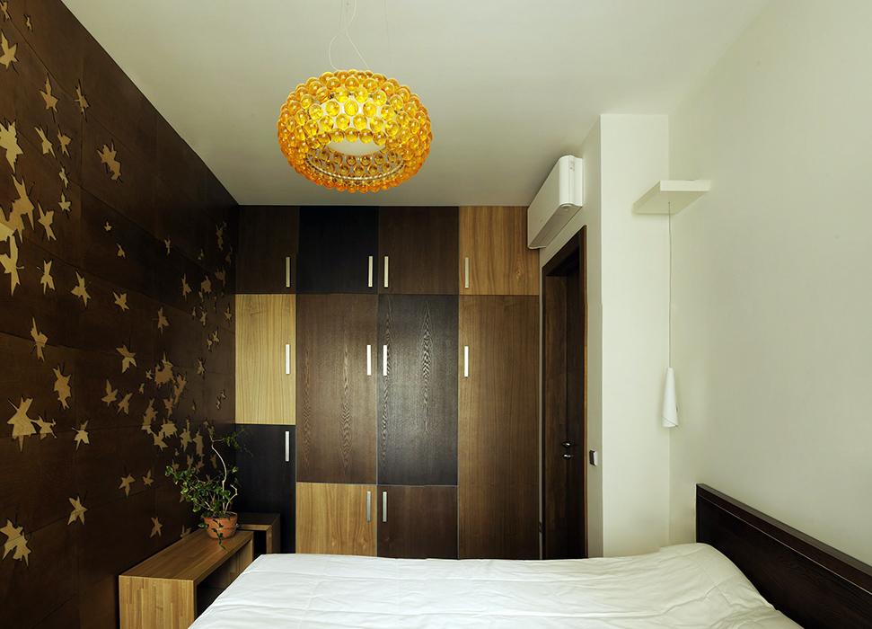Квартира. спальня из проекта , фото №35852
