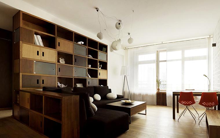 Квартира. гостиная из проекта , фото №35839